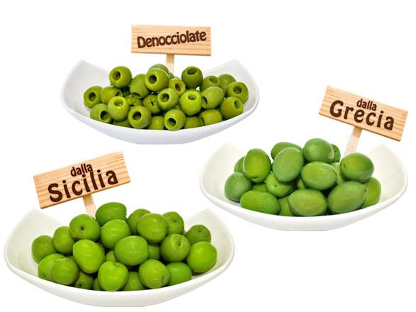 Le variet di olive pi consumate ficacci olive co - Tipi di olive da tavola ...