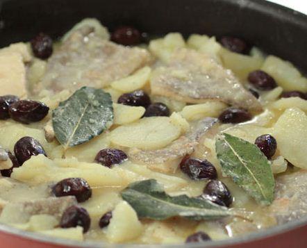 ricetta baccalà con patate e olive - ficacci olive co. - Come Si Cucina Il Baccala