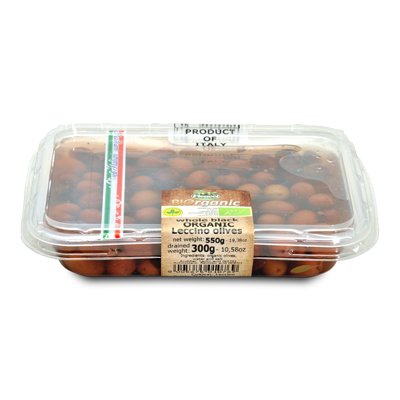 Organic Leccino Olives 300g
