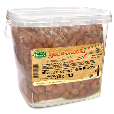 pitted black Riviera Olives - 3kg - pitted black Riviera Olives - 3kg