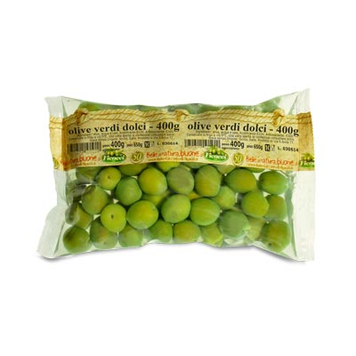 whole green sweetolives, in brine 14,1oz - whole green sweetolives, in brine 14,1oz