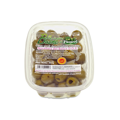 pitted marinated Nocellara del Belice Olives 250g