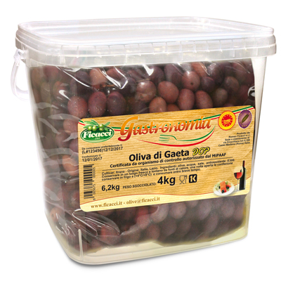 olive nere di GAETA - 4kg