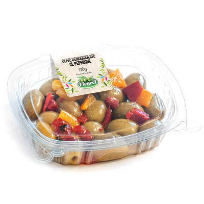 Pitted marinated olives 170g