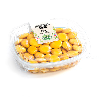 salted yellow lupins beans 220g - salted yellow lupins beans 220g
