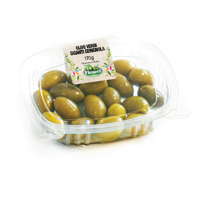huge CERIGNOLA olives - 170g - huge CERIGNOLA olives - 170g
