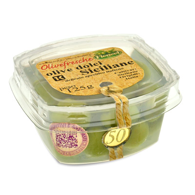 sweet CASTELVETRANO olives- 125g - sweet CASTELVETRANO olives- 125g