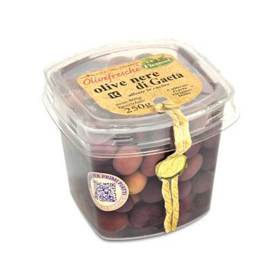 olive nere di GAETA - 250g
