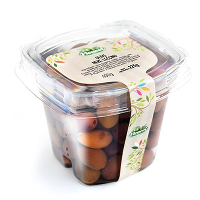 Black Leccino Olives 225g
