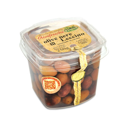 Olive nere Leccino 250g