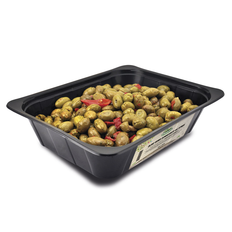 Cracked Etnea Olives 2kg