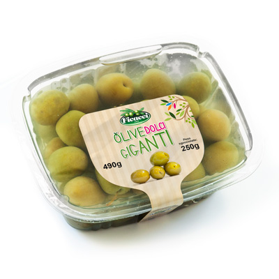 Sweet Castelvetrano Olives 250g