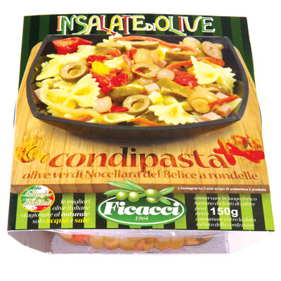 CONDIPASTA olive salad, dressed in oil 5,3oz - CONDIPASTA olive salad, dressed in oil 5,3oz