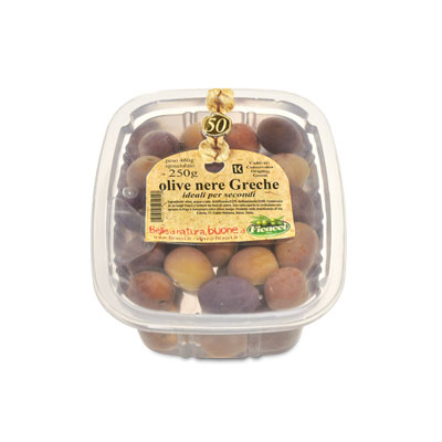 whole black natural greek olives, in brine 8,8oz - whole black natural greek olives, in brine 8,8oz