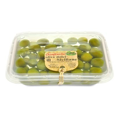 whole green sweetolives, in brine 300G - whole green sweetolives, in brine 300G