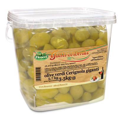 huge Cerignola olives 4kg