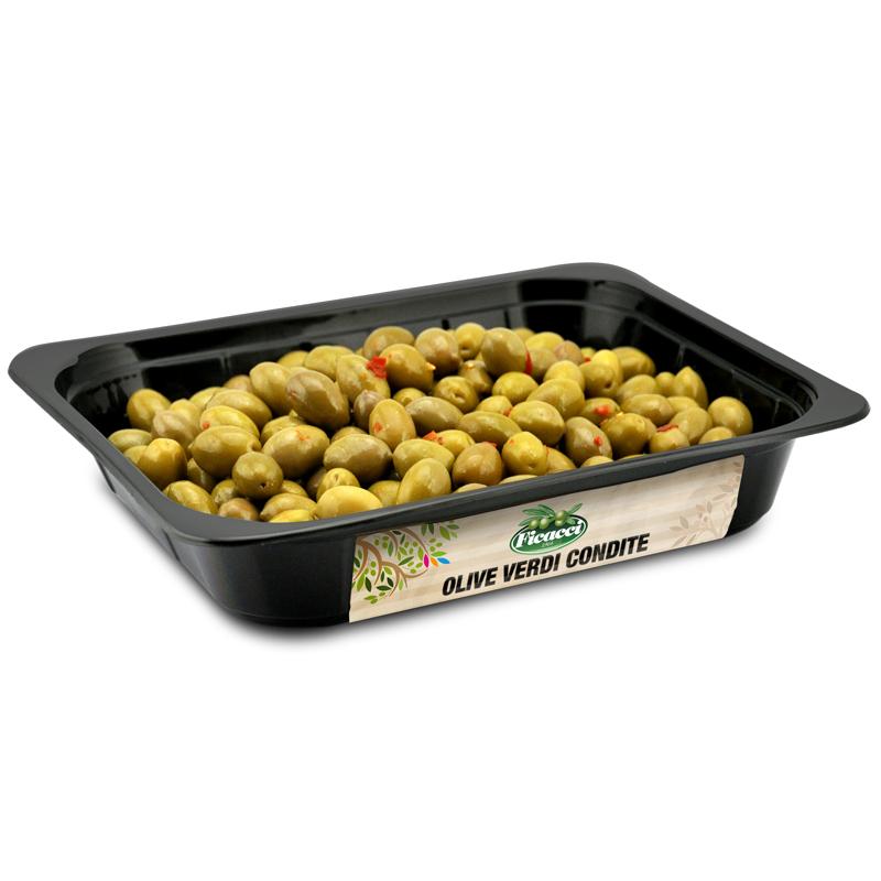 Marinated green olives 1,5kg