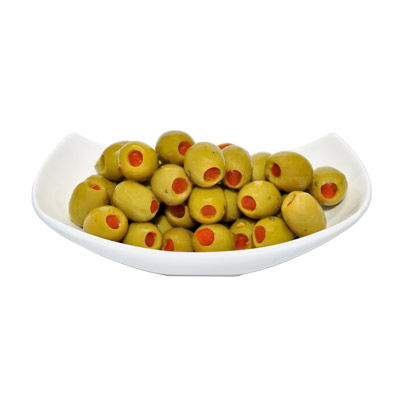 PIMENTO stuffed olives - PIMENTO stuffed olives